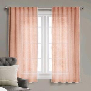 Light Filtering Curtain Stitched Edge Threshold